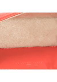 Pomarańczowa nerka Elisabetta Franchi z aplikacjami