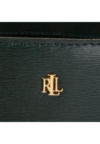 Zielona torebka klasyczna Lauren Ralph Lauren klasyczna