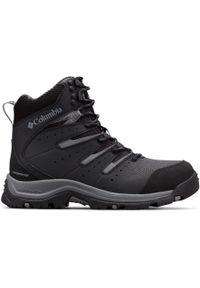 Czarne buty zimowe columbia na zimę