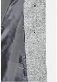 Szary płaszcz only gładki, na co dzień #5