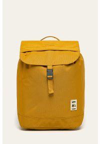 Lefrik - Plecak. Kolor: żółty. Wzór: paski