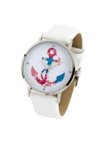 Zegarek na rękę bonprix biały. Kolor: biały