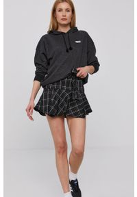 Szara bluza adidas Originals z kapturem, gładkie