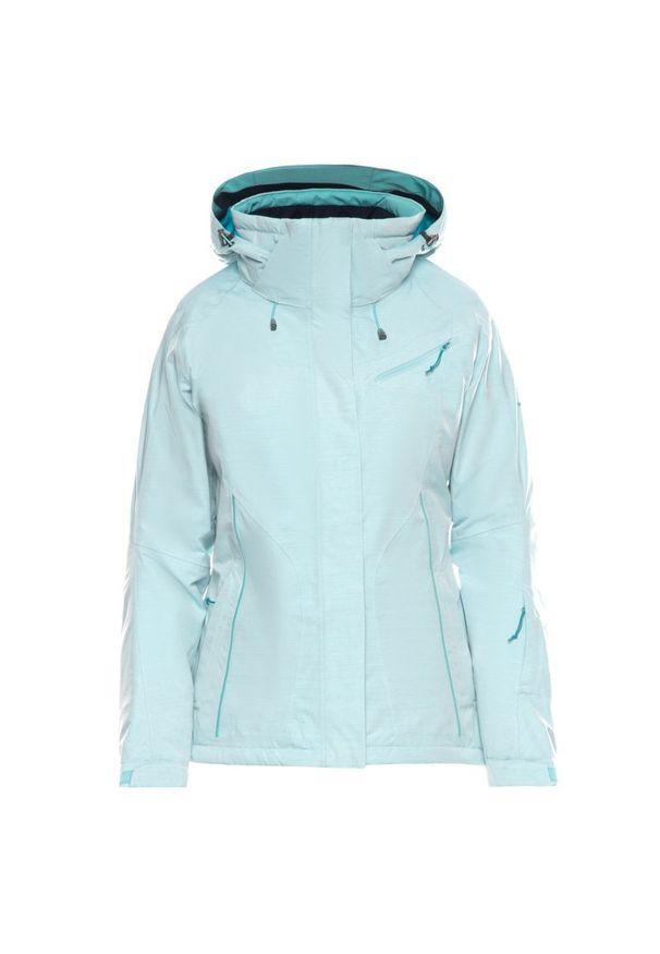 Niebieska kurtka narciarska salomon