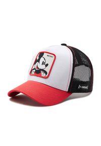 Biała czapka z daszkiem CapsLab z motywem z bajki