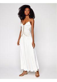 Biała sukienka koktajlowa wizytowa