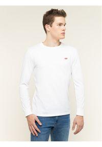 Levi's® Longsleeve Original Logo Tee 72848-0000 Biały Regular Fit. Kolor: biały. Długość rękawa: długi rękaw