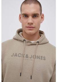 Premium by Jack&Jones - Bluza. Kolor: szary. Wzór: nadruk