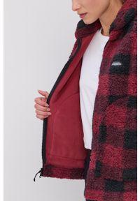 columbia - Columbia - Bluza. Okazja: na co dzień. Kolor: czerwony. Materiał: tkanina. Styl: casual