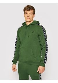 Kappa Bluza Igon 309043 Zielony Regular Fit. Kolor: zielony