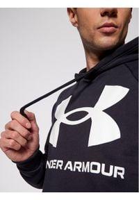 Under Armour Bluza Ua Rival Fleece Big Logo 1357093 Czarny Loose Fit. Kolor: czarny
