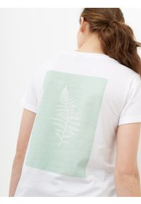 outhorn - T-shirt z nadrukiem damski - Outhorn. Wzór: nadruk