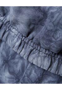 CHAOS BY MARTA BOLIGLOVA - Bawełniana bluza z kapturem Marlon. Typ kołnierza: kaptur. Kolor: szary. Materiał: bawełna. Wzór: nadruk. Styl: elegancki, sportowy