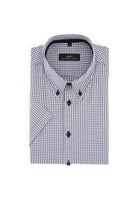 Biała koszula Giacomo Conti krótka, na wiosnę