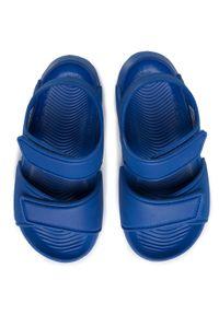 Niebieskie sandały Adidas na lato, klasyczne