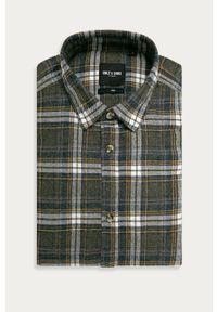 Szara koszula Only & Sons z długim rękawem, długa