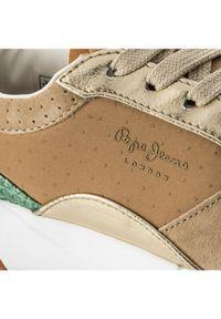 Pepe Jeans Sneakersy Foster Itaca PLS30680 Brązowy. Kolor: brązowy