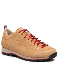 Beżowe buty trekkingowe Dolomite