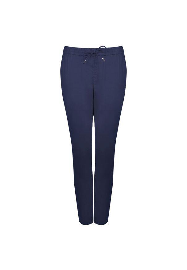 "GANT - Gant Spodnie ""Summer Linen"". Materiał: tkanina"
