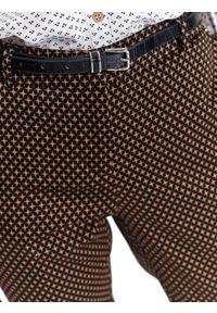 TOP SECRET - Eleganckie spodnie 7/8. Kolor: niebieski. Sezon: wiosna. Styl: elegancki