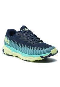Hoka One One - Buty HOKA ONE ONE - W Torrent 2 1110497 Bics. Kolor: niebieski. Materiał: materiał. Szerokość cholewki: normalna. Sport: bieganie