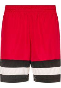 Czerwone spodenki sportowe Nike do koszykówki #5