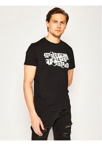 Czarny t-shirt Just Cavalli