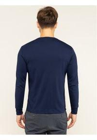 Polo Ralph Lauren Longsleeve 710760121 Granatowy Slim Fit. Typ kołnierza: polo. Kolor: niebieski. Długość rękawa: długi rękaw
