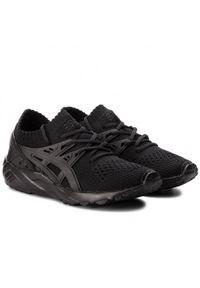 Czarne buty sportowe Asics Asics Gel Kayano, z cholewką