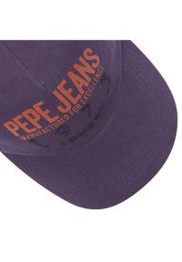 Fioletowa czapka z daszkiem Pepe Jeans