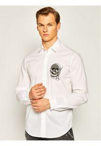 Biała koszula casual Just Cavalli