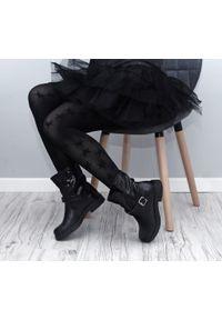 Czarne botki Zapato wąskie