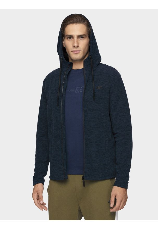 Bluza z polaru 4f ze stójką