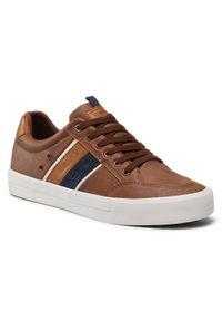 Wrangler Sneakersy Pacific WM11150A Brązowy. Kolor: brązowy