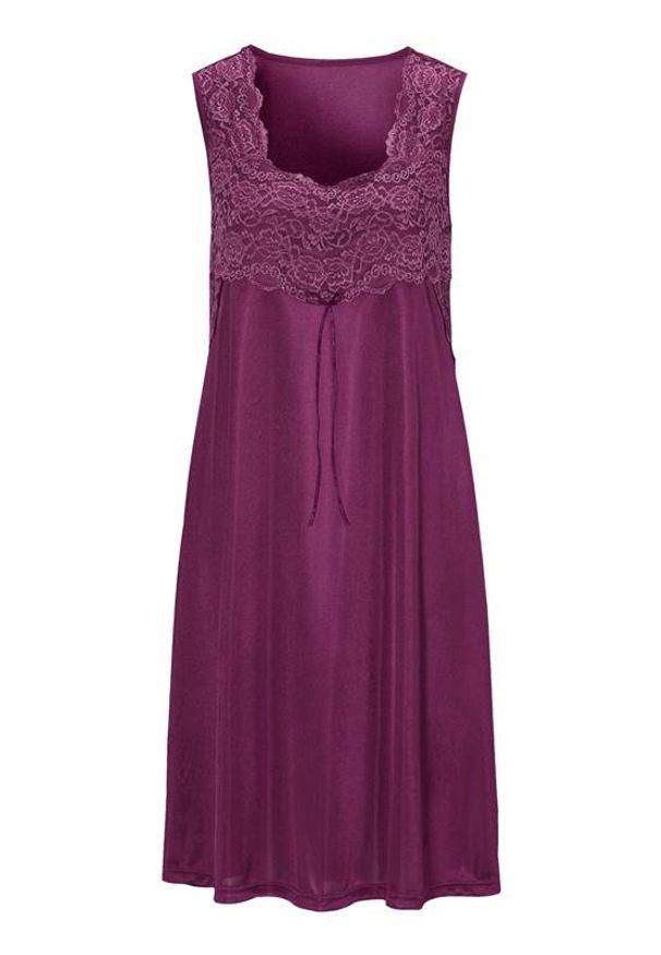 Fioletowa piżama Cellbes w koronkowe wzory