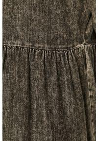 Szara sukienka Noisy may mini, na co dzień, prosta, casualowa