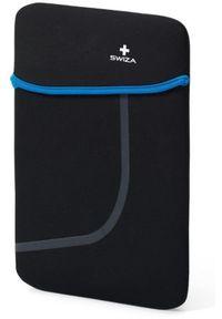 """Etui Swiza Moranda 10"""" Czarno-niebieski. Kolor: wielokolorowy, niebieski, czarny #1"""