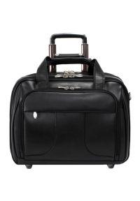 Czarna torba na laptopa MCKLEIN biznesowa