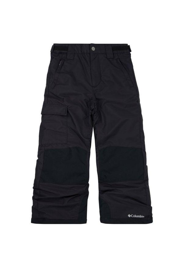 Czarne spodnie narciarskie columbia