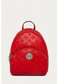 Guess - Plecak. Kolor: czerwony