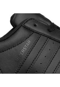 Czarne półbuty Adidas z cholewką, eleganckie