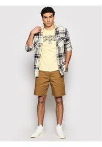Levi's® T-Shirt Housemarked Graphic Tee 22489-0321 Żółty Regular Fit. Kolor: żółty