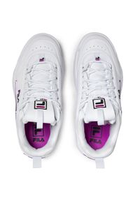 Białe buty sportowe Fila z cholewką, na co dzień