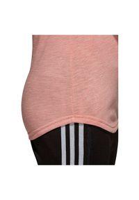 Adidas - Koszulka adidas ID Winners W CG0974. Materiał: tkanina, bawełna, wiskoza, poliester. Długość rękawa: raglanowy rękaw. Sport: fitness