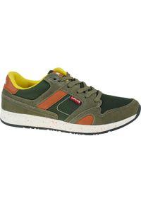 Zielone sneakersy Levi's® z cholewką