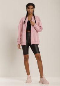 Renee - Różowa Bluza Nephelane. Kolor: różowy