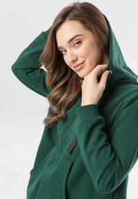 Zielona bluza rozpinana Born2be