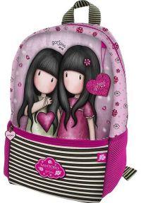 Liliowy plecak