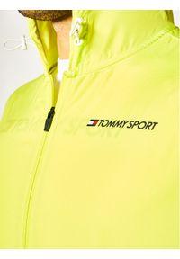 Żółta kurtka do biegania Tommy Sport