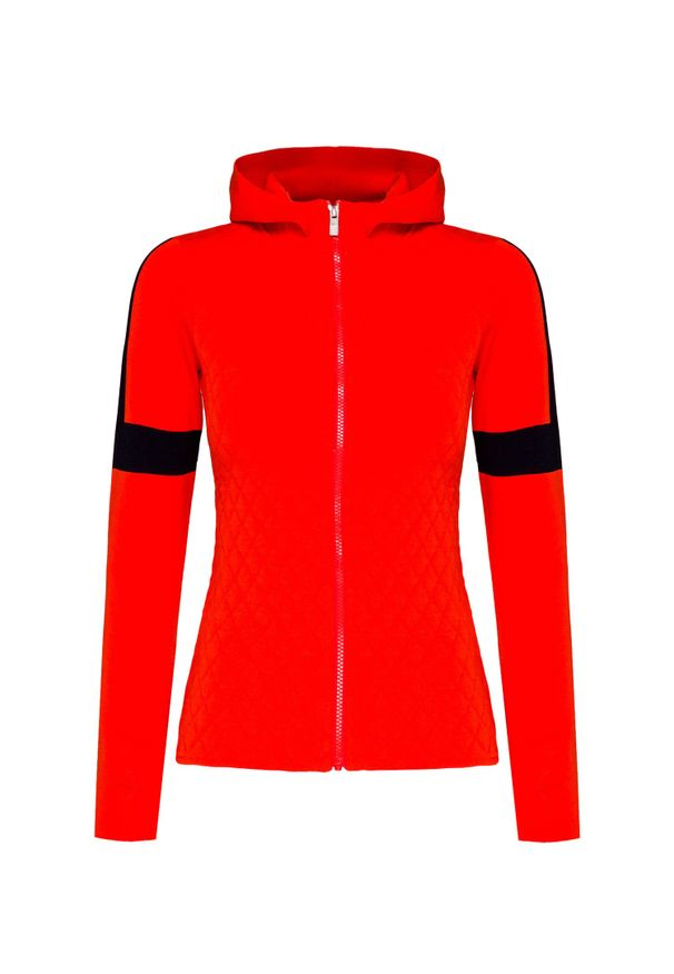 Fusalp - Sweter FUSALP FRANCINE. Materiał: syntetyk, włókno, wiskoza. Wzór: ze splotem. Styl: sportowy